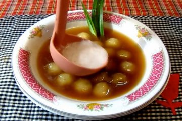 cara buat bubur dari tepung kanji1